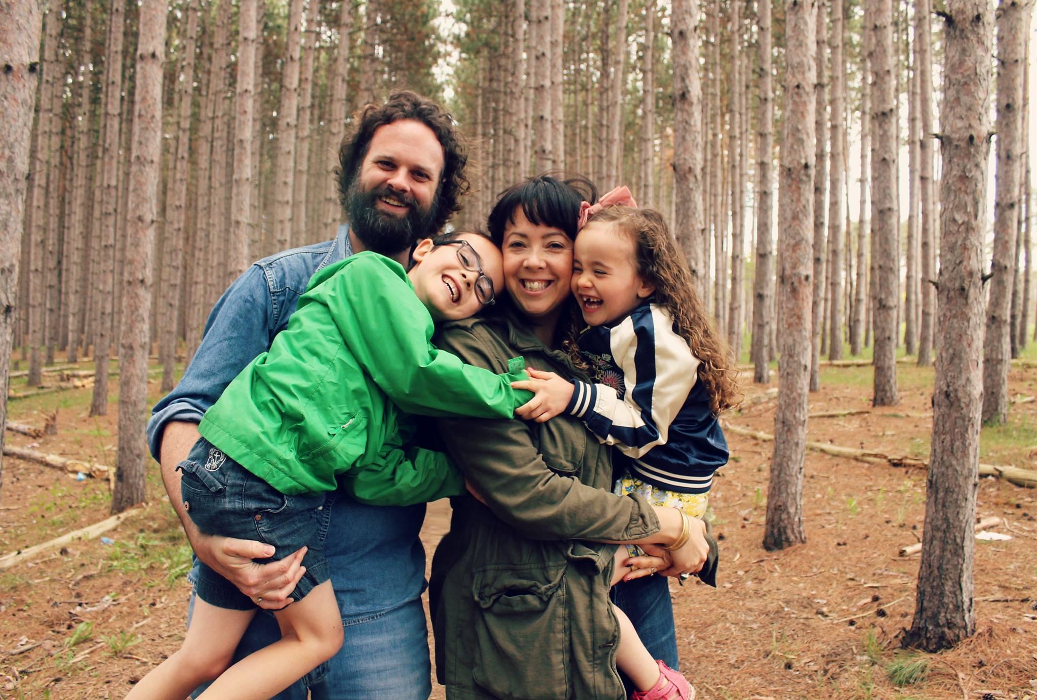 Selena Mills and Family
